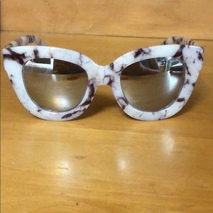 Quay Australia Marble Sugar & Spice sunglasses
